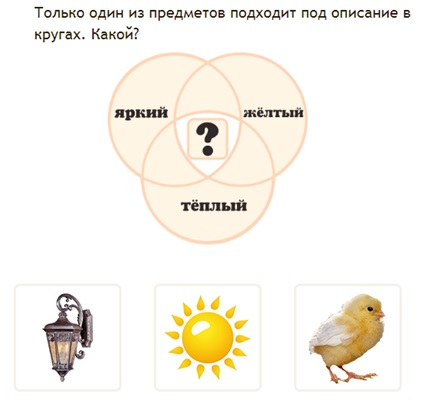 задачи на диаграммы эйлера