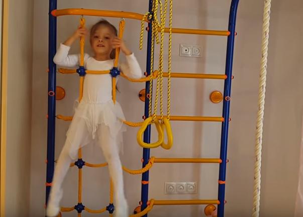Шведская стенка - развивающий подарок для ребенка