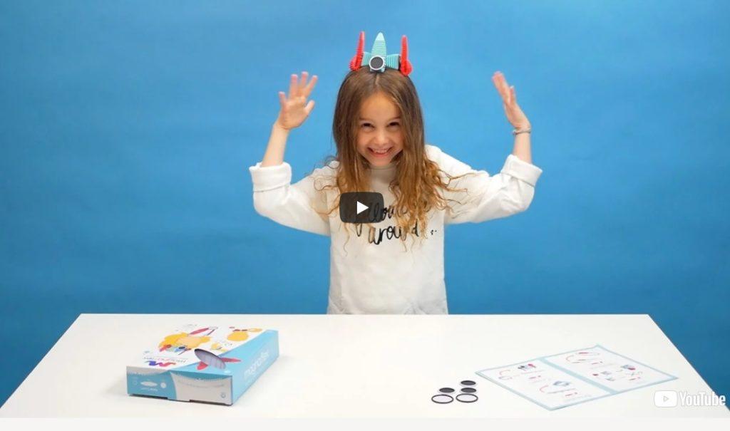 магнитный конструктор - развивающий подарок для двухлетнего ребенка