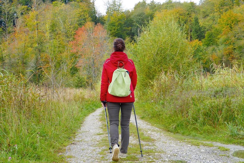 прогулки на свежем воздухе и двигательная активность - хороший способ профилактики инсульта
