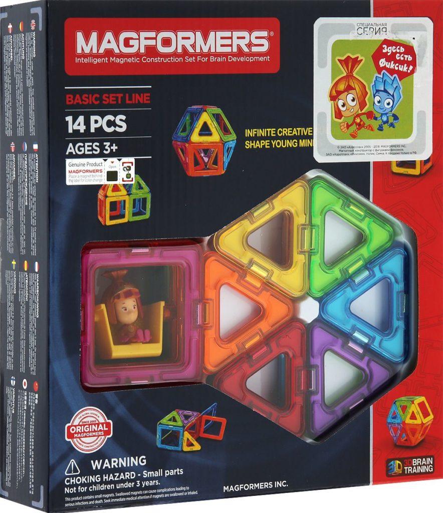 магнитный конструктор для развития абстрактного мышления